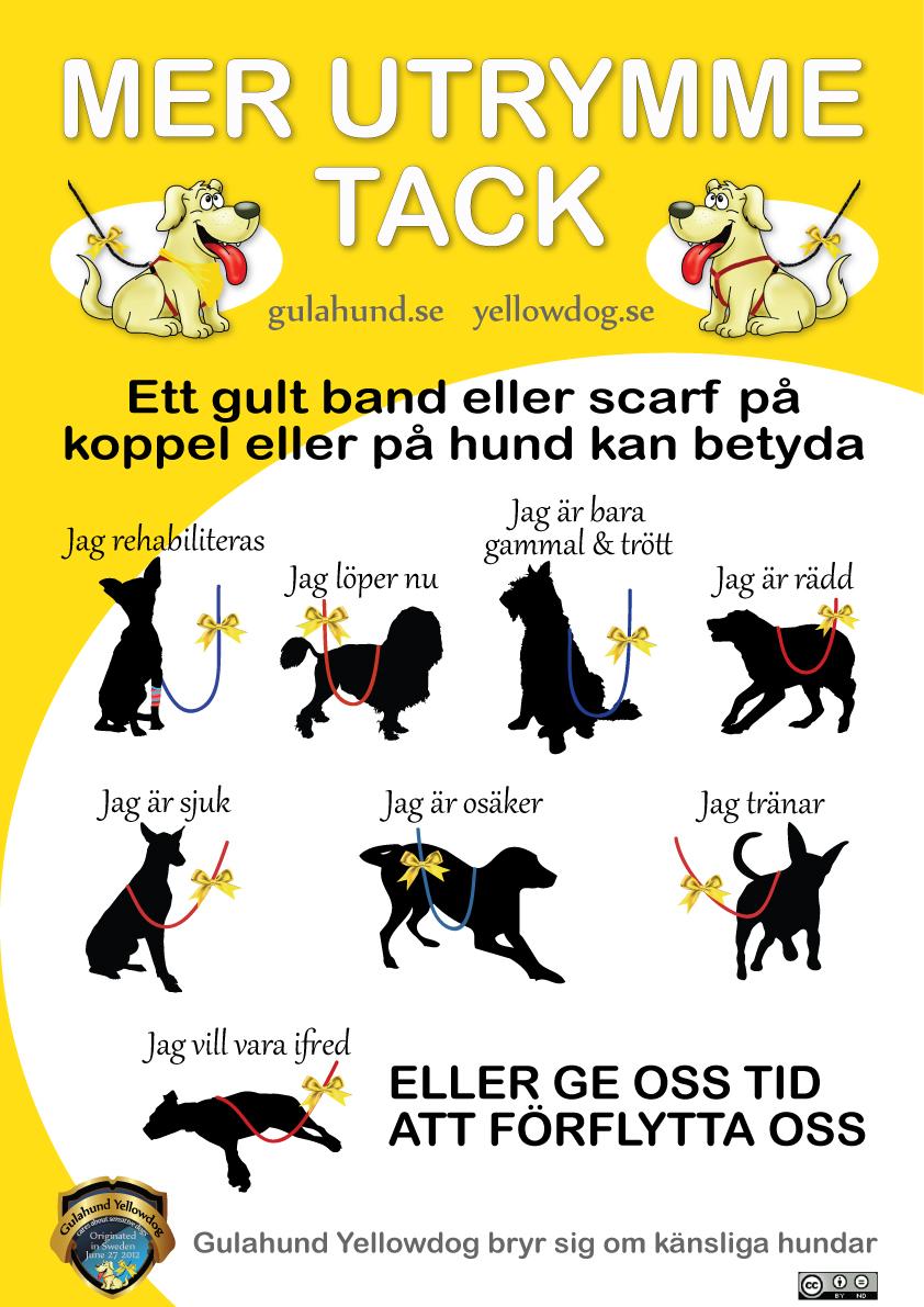 gulahundyellowdog-poster-swedish
