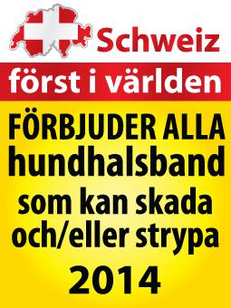 Schweiz förbjuder farliga hundhalsband